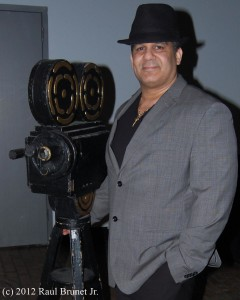 Filmmaker, Antonio Saillant at Kevin Spacey's First Shot Film Premiere at New York's Highline Stages in the Meatpacking District.