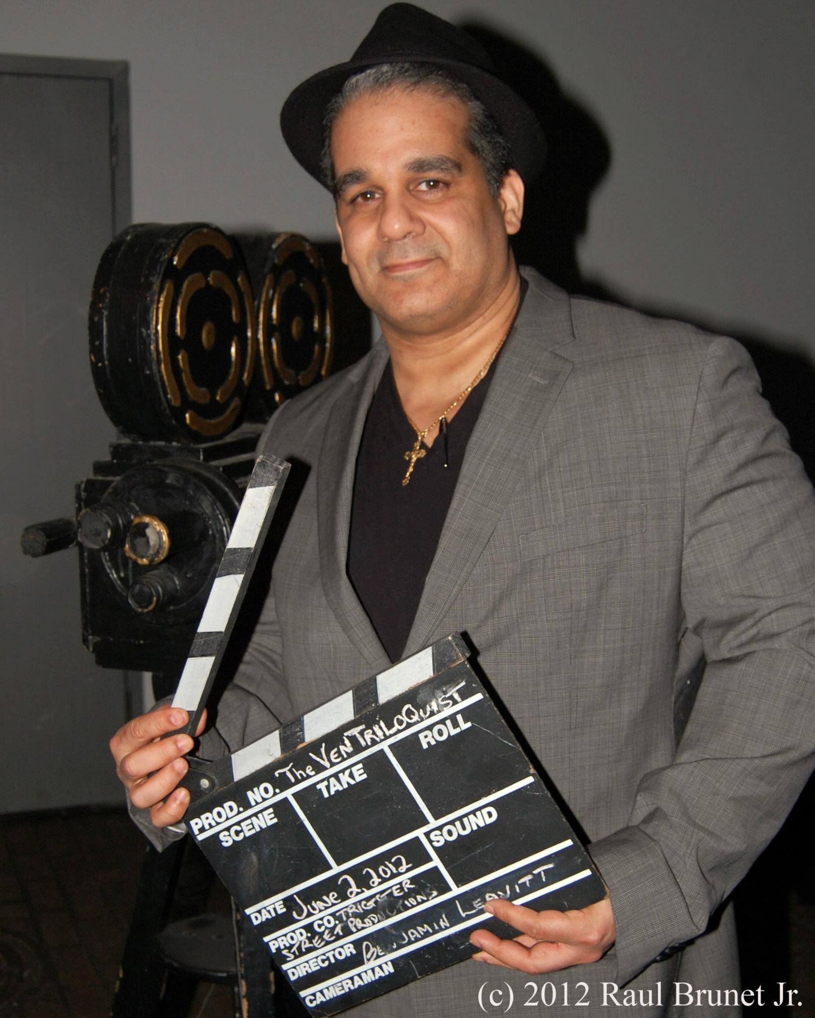 Filmmaker, Antonio Saillant at Kevin Spacey's First Shot Film Premiere at New York's Highline Stages in the Meatpacking District