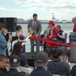 Hornblower Cruises & Events, NYC & Company and the NYC Economic Development Corporation will celebrate the relaunch and christening of Pier 15 at South Street Seaport - - an area hard-hit by Hurricane Sandy.