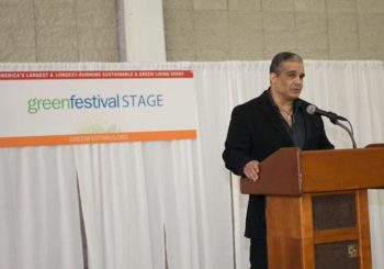 Producer Antonio Saillant Set for Keynote Interview at GREEN FESTIVAL EXPO NY